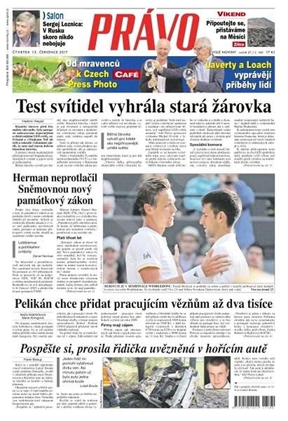 Právo - 13-07-2017 - Elektronické noviny