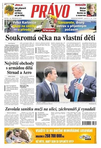 Právo - 14-07-2017 - Elektronické noviny