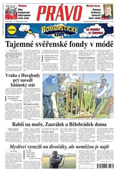Právo - 17-07-2017 - Elektronické noviny