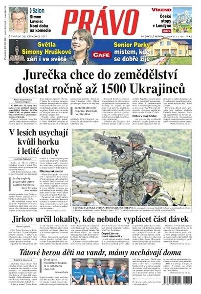 Právo - 20-07-2017 - Elektronické noviny