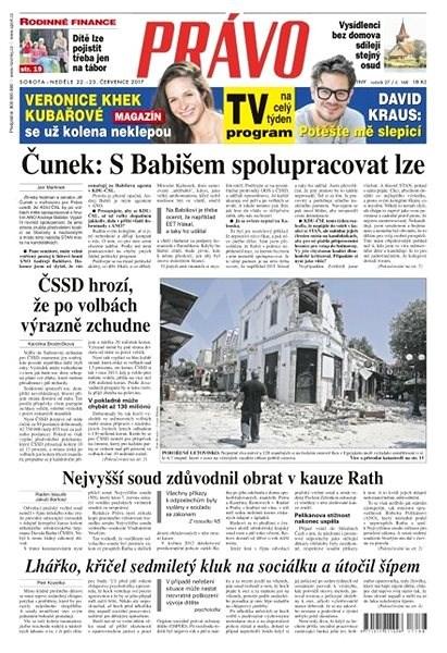 Právo - 22-07-2017 - Elektronické noviny
