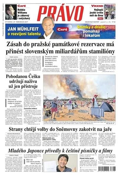 Právo - 27-07-2017 - Elektronické noviny