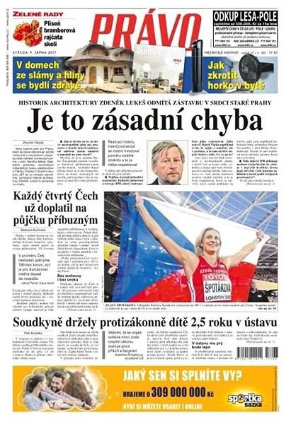Právo - 09-08-2017 - Elektronické noviny