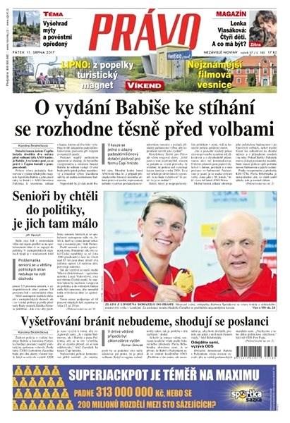 Právo - 11-08-2017 - Elektronické noviny