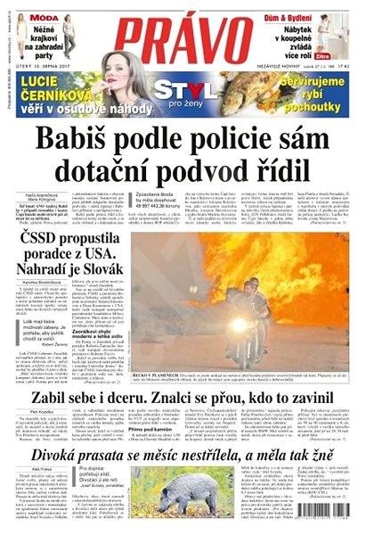 Právo - 15-08-2017 - Elektronické noviny