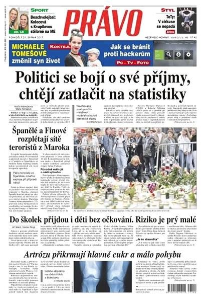 Právo - 21-08-2017 - Elektronické noviny