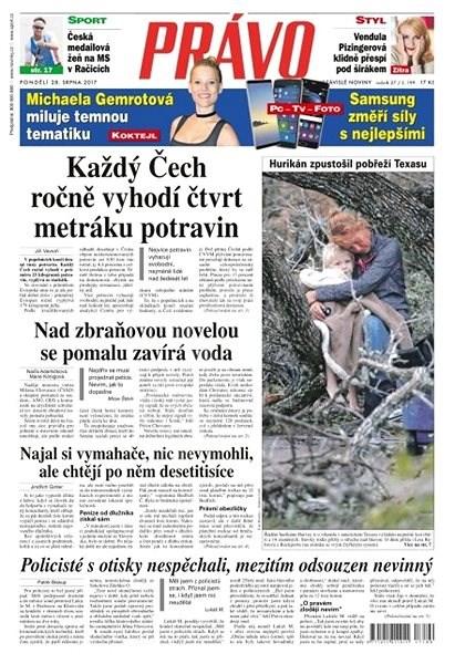 Právo - 28-08-2017 - Elektronické noviny