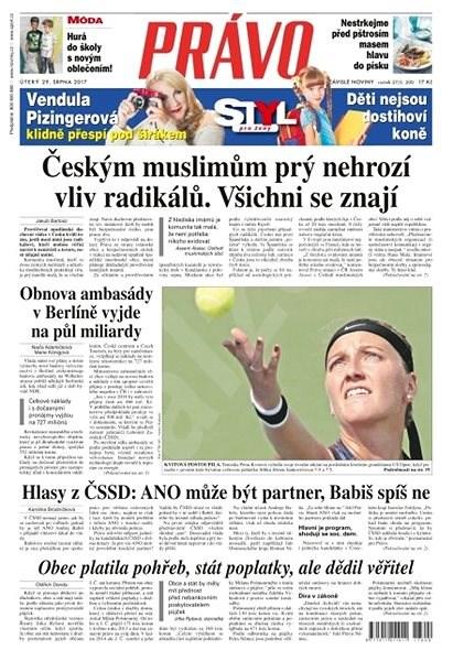 Právo - 29-08-2017 - Elektronické noviny