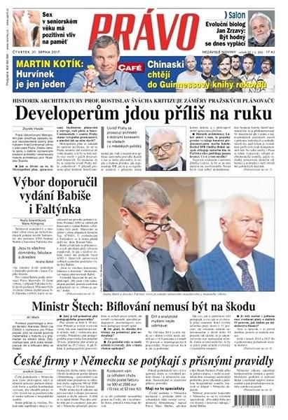 Právo - 31-08-2017 - Elektronické noviny