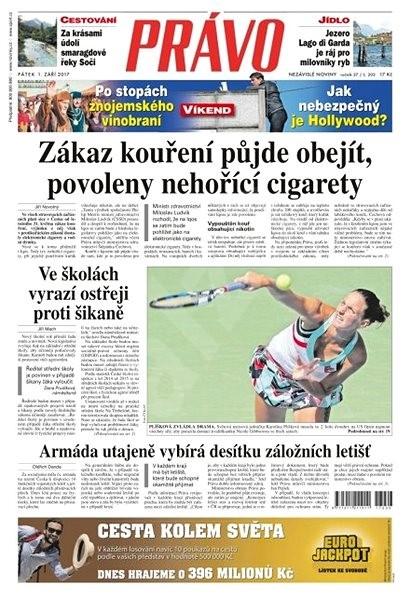 Právo - 01-09-2017 - Elektronické noviny