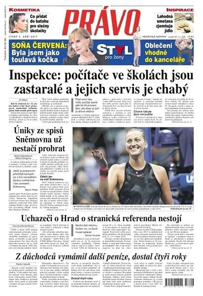 Právo - 05-09-2017 - Elektronické noviny