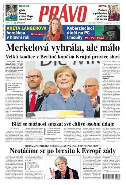 Právo - 25-09-2017 - Elektronické noviny