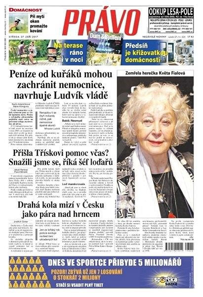 Právo - 27-09-2017 - Elektronické noviny