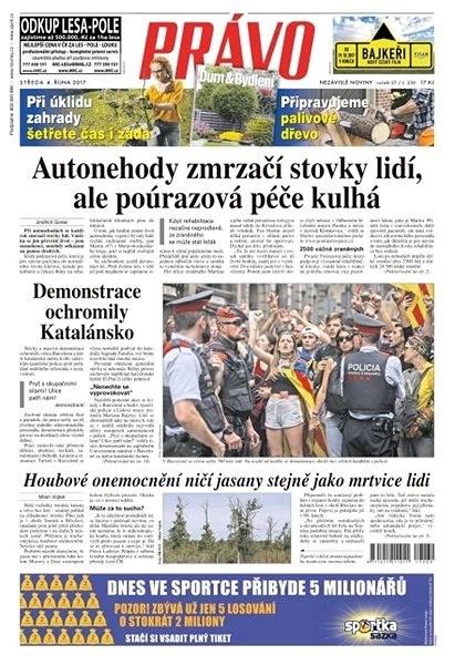 Právo - 04-10-2017 - Elektronické noviny