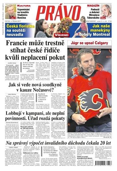 Právo - 06-10-2017 - Elektronické noviny