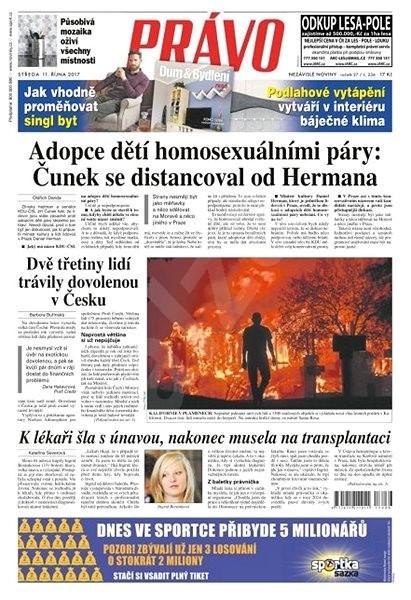 Právo - 11-10-2017 - Elektronické noviny