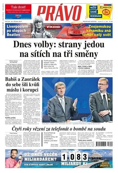 Právo - 20-10-2017 - Elektronické noviny
