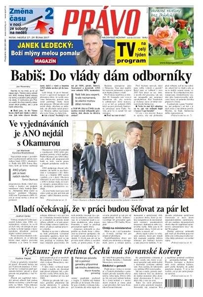 Právo - 27-10-2017 - Elektronické noviny
