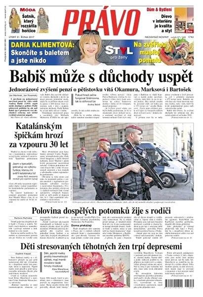 Právo - 31-10-2017 - Elektronické noviny