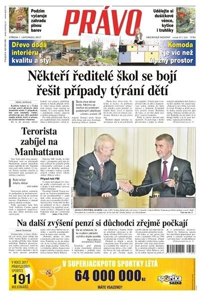 Právo - 01-11-2017 - Elektronické noviny
