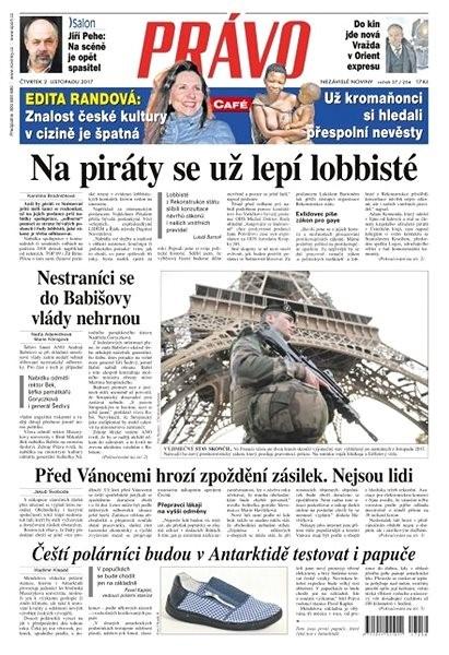 Právo - 02-11-2017 - Elektronické noviny
