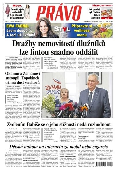 Právo - 07-11-2017 - Elektronické noviny