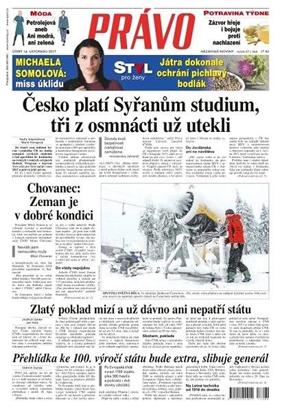 Právo - 14-11-2017 - Elektronické noviny