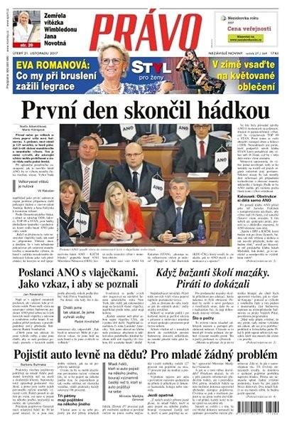 Právo - 21-11-2017 - Elektronické noviny