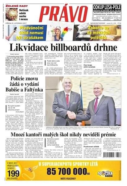 Právo - 22-11-2017 - Elektronické noviny