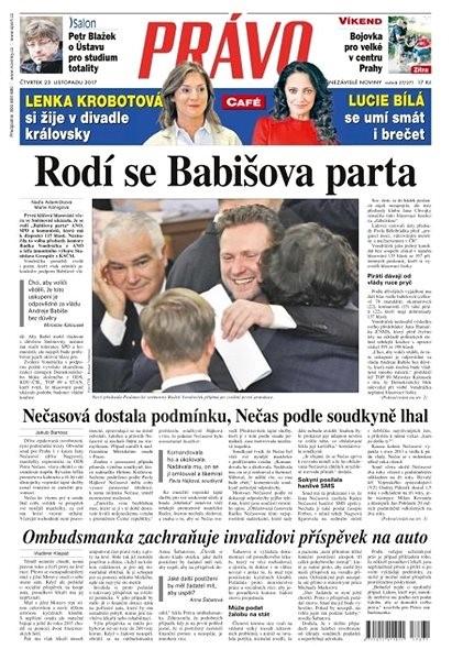 Právo - 23-11-2017 - Elektronické noviny