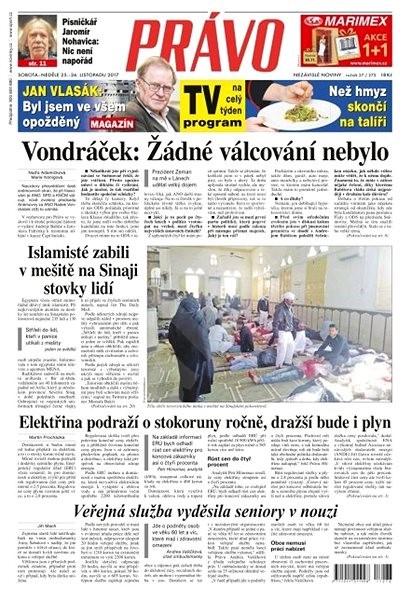 Právo - 25-11-2017 - Elektronické noviny