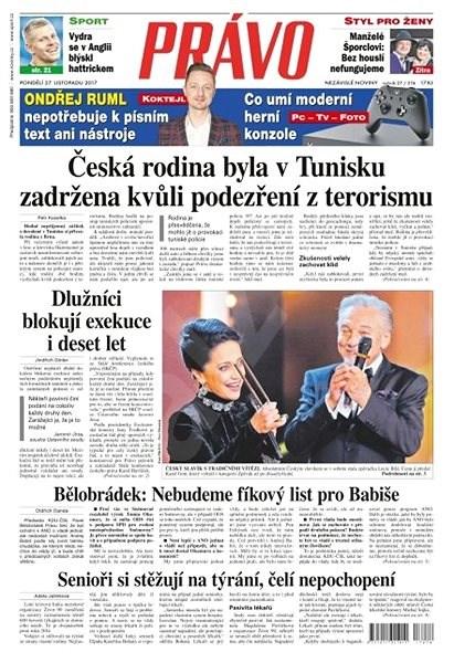 Právo - 27-11-2017 - Elektronické noviny