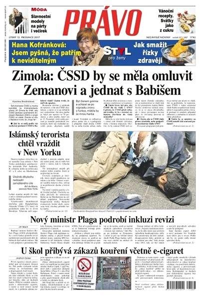 Právo - 12-12-2017 - Elektronické noviny
