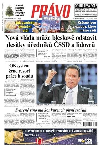 Právo - 13-12-2017 - Elektronické noviny