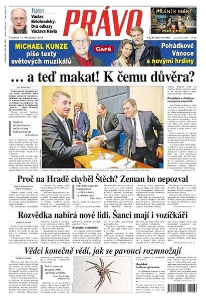 Právo - 14-12-2017 - Elektronické noviny