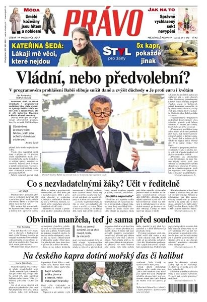Právo - 19-12-2017 - Elektronické noviny