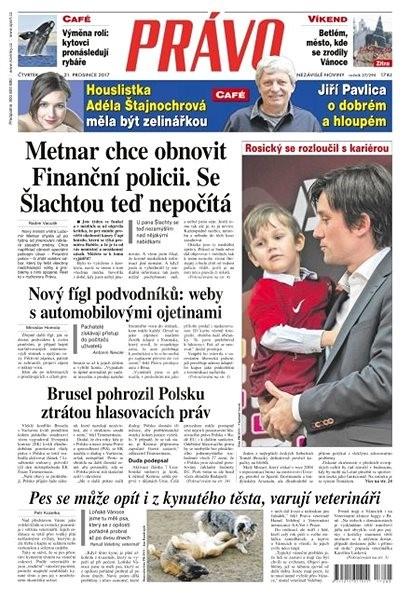 Právo - 21-12-2017 - Elektronické noviny