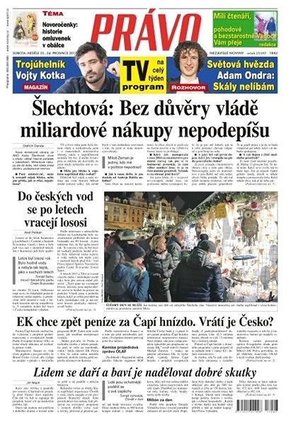 Právo - 23-12-2017 - Elektronické noviny