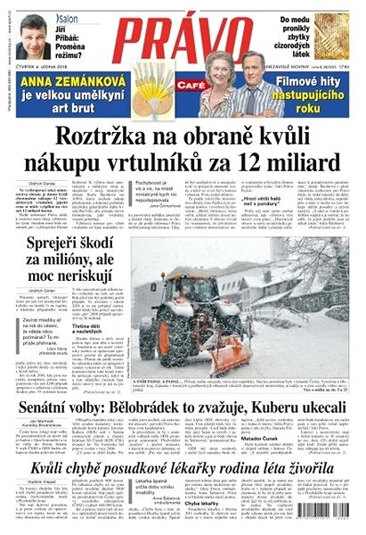 Právo - 04-01-2018 - Elektronické noviny