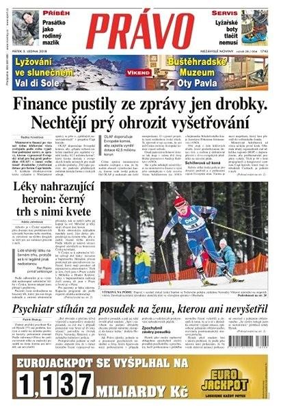 Právo - 05-01-2018 - Elektronické noviny