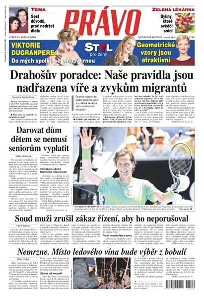 Právo - 23-01-2018 - Elektronické noviny