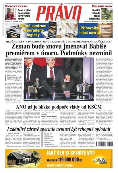 Právo - 24-01-2018 - Elektronické noviny