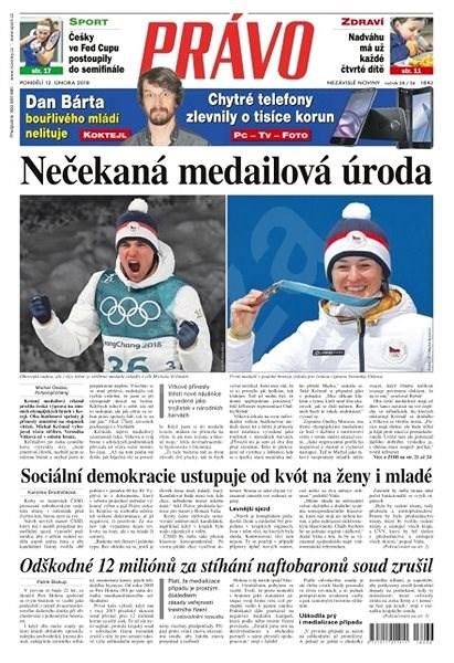 Právo - 12-02-2018 - Elektronické noviny