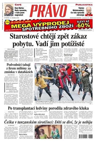 Právo - 15-02-2018 - Elektronické noviny