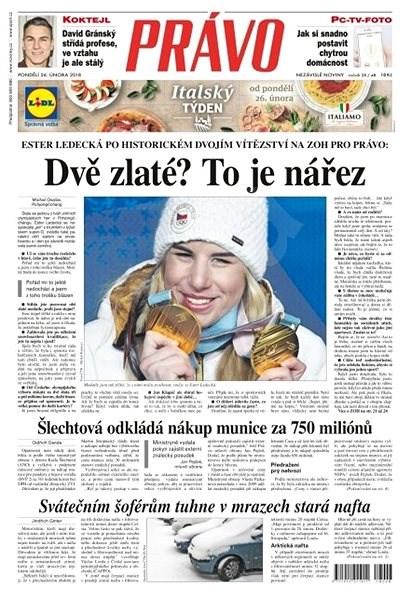 Právo - 26-02-2018 - Elektronické noviny