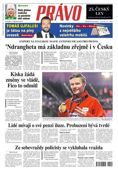 Právo - 05-03-2018 - Elektronické noviny