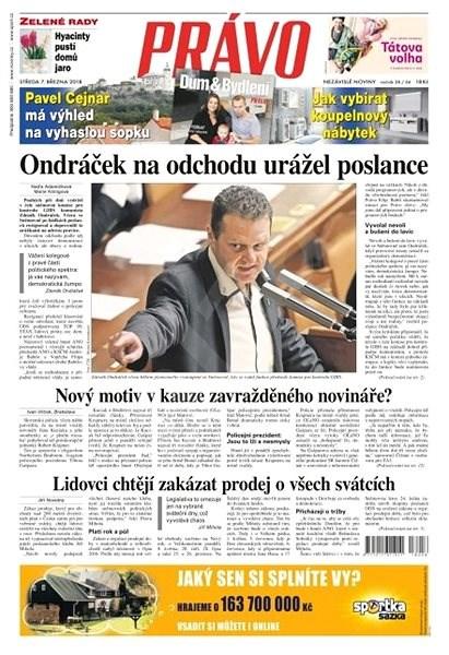 Právo - 07-03-2018 - Elektronické noviny