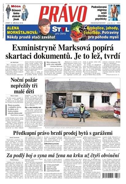 Právo - 13-03-2018 - Elektronické noviny