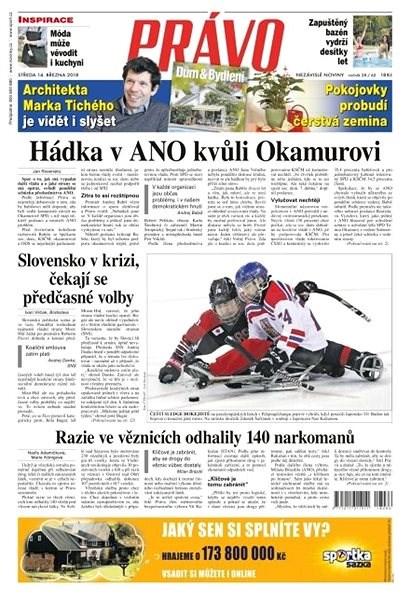 Právo - 14-03-2018 - Elektronické noviny