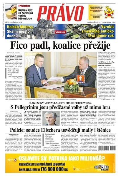 Právo - 16-03-2018 - Elektronické noviny